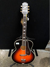 Load image into Gallery viewer, Epiphone De Luxe Round Hole Masterbilt Acoustic Guitar
