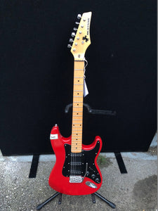 Korean Mustang Red Electric Guitar 28-1100-958