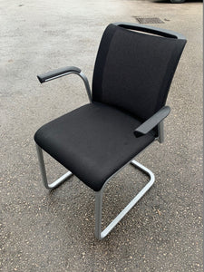 Steelcase Reply Air Cantilever Meeting Chair - Flogit2us.com