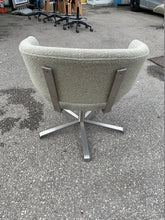 Load image into Gallery viewer, Cream Upholstered Swivel Reception Chairs - Flogit2us.com