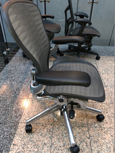 Herman Miller Aeron Chair Size B Office Chair Chrome - Flogit2us.com