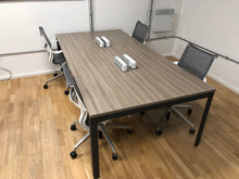 Load image into Gallery viewer, Herman Miller Memo 4 Person Workstation Grey