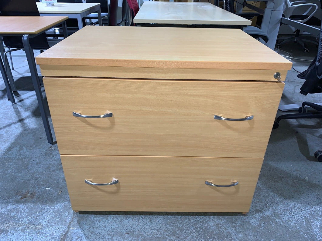 Beech 2 Drawer Lateral Filing Cabinet - Flogit2us.com