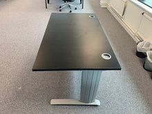 Load image into Gallery viewer, 1400mm Black Straight Desk - Flogit2us.com