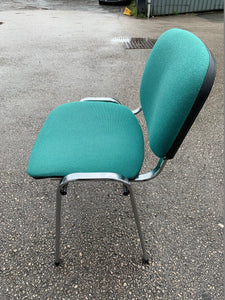 Fabric Meeting Room/Reception Chair - Green - Flogit2us.com