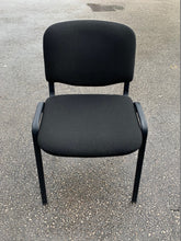 Load image into Gallery viewer, Fabric Meeting Room/Reception Chair - Black - Flogit2us.com
