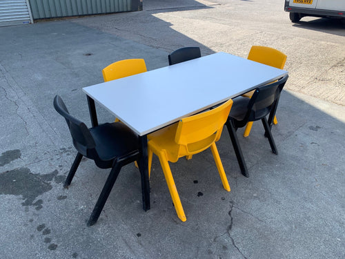 Canteen Table & Postura + Chair Set - Flogit2us.com