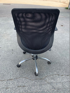Mesh Back Multi Function Office Chair With Arms - Flogit2us.com