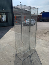 Load image into Gallery viewer, 2 Compartment Wire Mesh Locker - Flogit2us.com