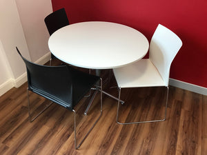 Round Meeting/Canteen Table And Chairs - Flogit2us.com