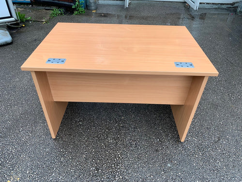1200mm Beech Straight Desk (Special Offer)