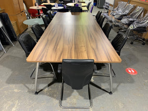 Walnut Executive Boardroom Table
