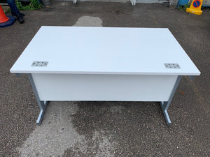 1200mm TC White Straight Desk (Special Offer)