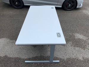 1600mm TC White Straight Desk (Special Offer)