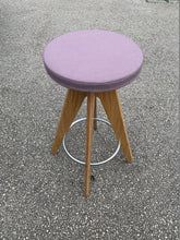Load image into Gallery viewer, Connection Centro Upholstered Cafe/Bar Stool - Purple