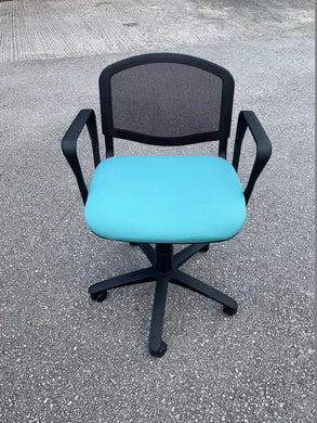 Eclat Swivel Mesh Chair With Arms