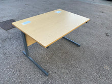 Load image into Gallery viewer, 1200mm Oak Straight Desk (Special Offer)
