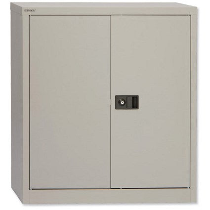 Trexus Low Steel Storage Cupboard 2 Door - Flogit2us.com