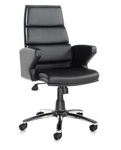 Milot Leather Faced Executive Chair - Flogit2us.com