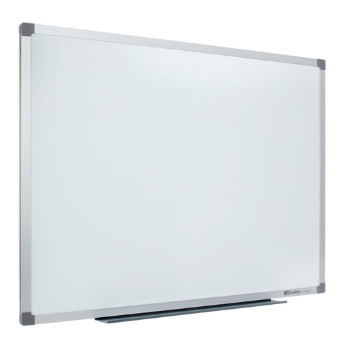 Nobo Lacquered Whiteboard 1800x1200mm With Pen Tray and Fixing Kit No. 9701517
