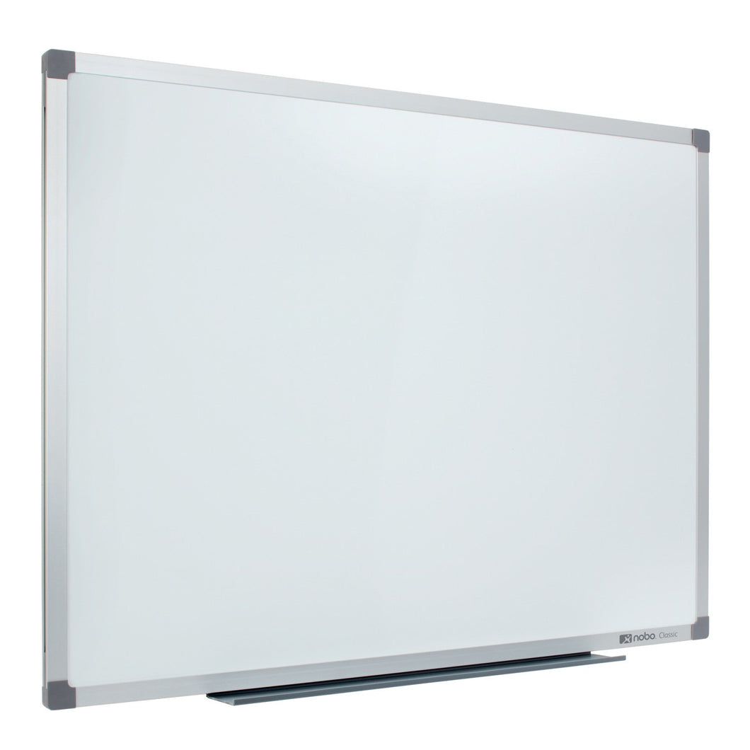 Nobo Lacquered Whiteboard 1800x1200mm With Pen Tray and Fixing Kit No. 9701517 - Flogit2us.com