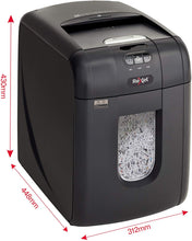 Load image into Gallery viewer, Rexel Auto+ 130M Auto Feed 130 Sheet Micro Cut Shredder - Flogit2us.com