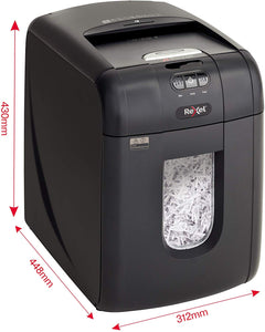 Rexel Auto+ 130X Auto Feed 130 Sheet Cross Cut Shredder - Flogit2us.com
