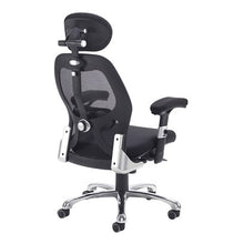 Load image into Gallery viewer, Sandro Mesh Back Executive Chair With Black Air Mesh Seat And Head Rest - Flogit2us.com