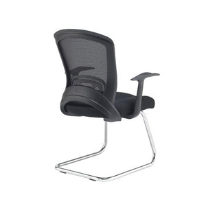 Solaris Mesh Visitors Chair - Black - Flogit2us.com