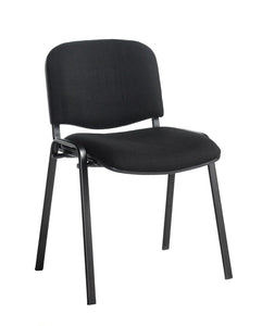 Taurus Meeting Room Stackable Chair With Black Frame - Flogit2us.com