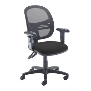Jota Mesh Back Operator's Chair With Adjustable Arms