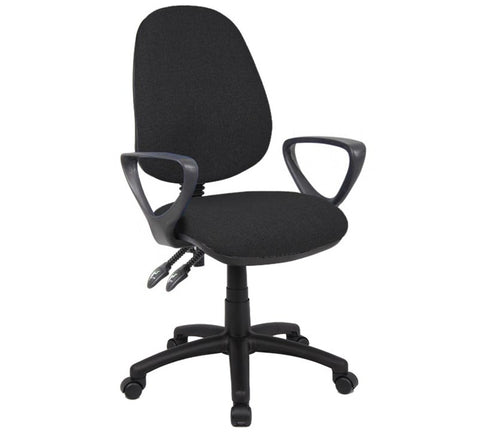 Vantage 100 2 Lever PCB Operators Chair With Arms - Flogit2us.com