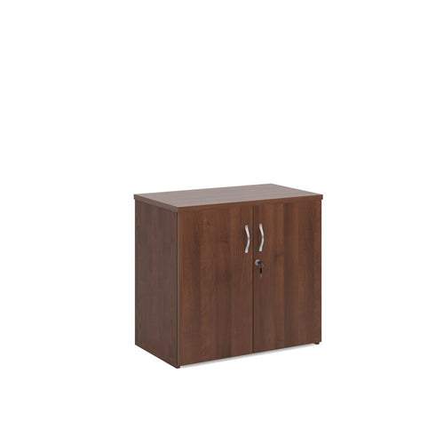 Universal Double Door Cupboard - Walnut - Flogit2us.com