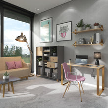 Load image into Gallery viewer, Cairo Home Office Desk With Sleigh Frame Legs