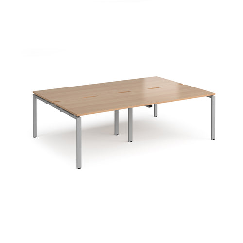 Adapt 4 Bench Desk Cluster - Flogit2us.com