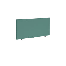 Load image into Gallery viewer, Straight 700mm High Desktop Fabric Screen - Carron Green