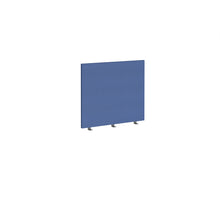 Load image into Gallery viewer, Straight 700mm High Desktop Fabric Screen - Blue