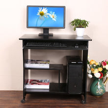 Load image into Gallery viewer, Homdox Home Office Mobile Computer Desk/Workstation With Keyboard Shelf N20* - Flogit2us.com