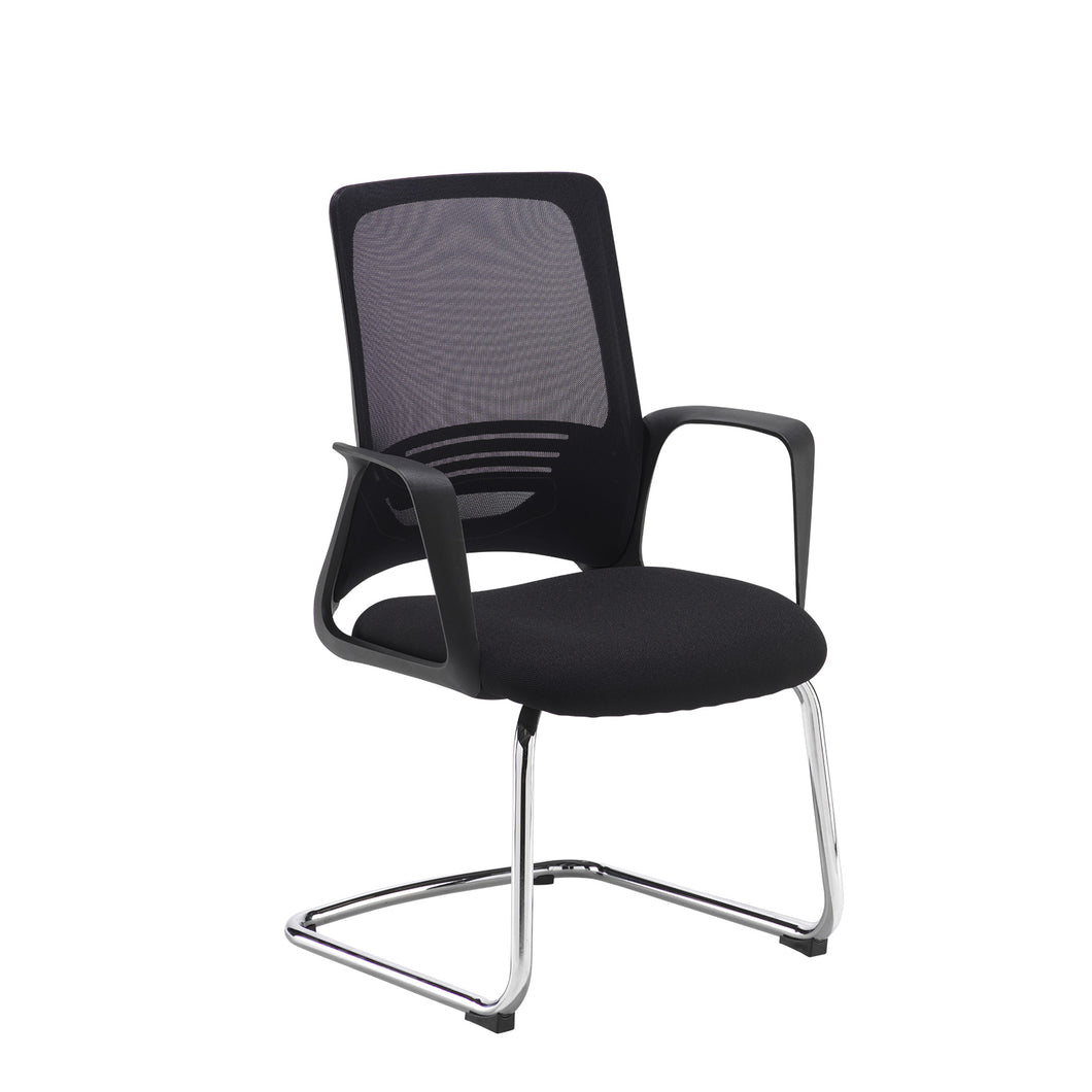 Toto Black Mesh Back Visitors Chair