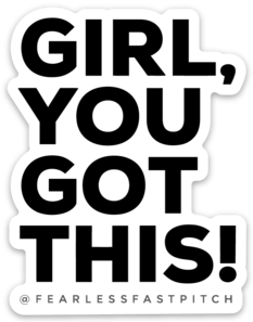 Girl, You Got This! Sticker - 3x2inch