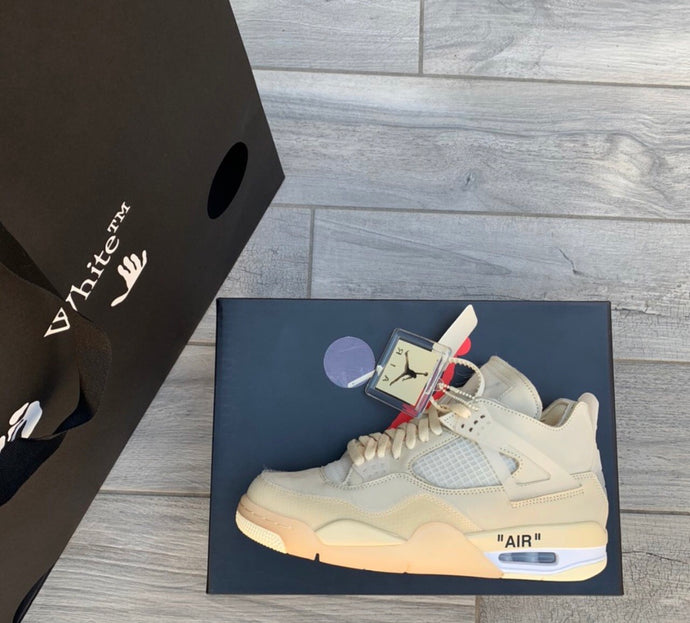 Air Jordan 4 Off-White Sail