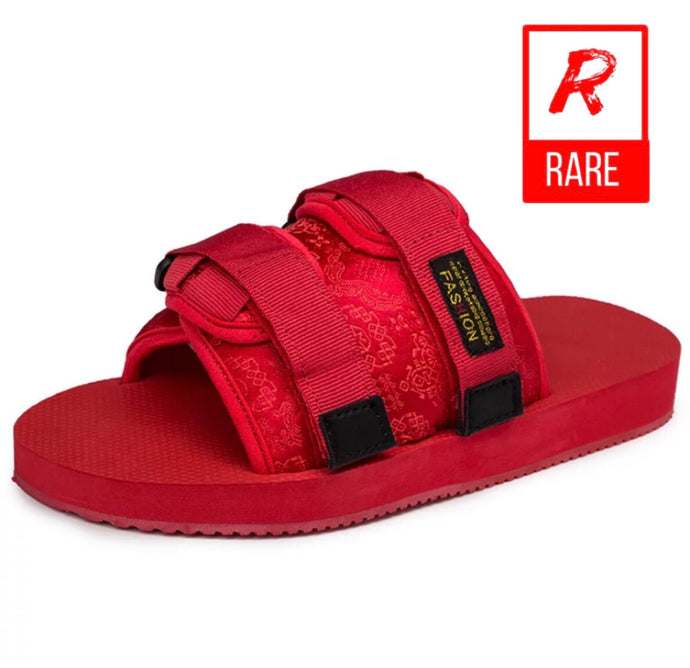 (RareDripSeason) Red Fetty slides