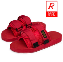 Load image into Gallery viewer, (RareDripSeason) Red Fetty slides