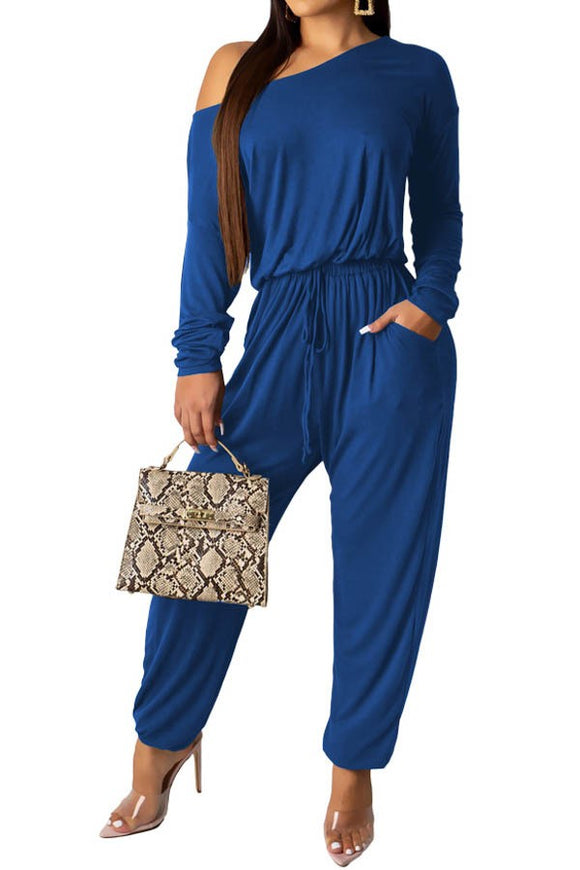 True Blue Jumpsuit