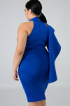 Work For It Dress - Plus