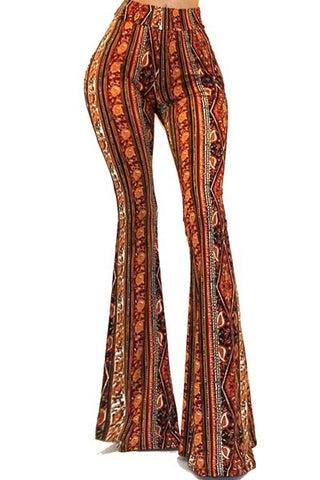 Fall for this - burnt orange/multi