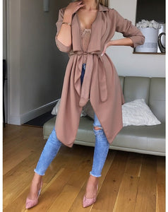 Easy Breezy Jacket-Tan