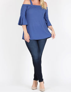 Eliza Top - Denim Plus