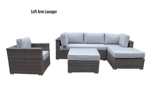 The Glacier - 4pc Sunbrella® Outdoor Sofa Set - Cozy Corner Patios