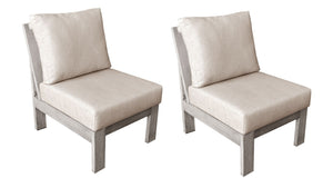 The Canyonlands Middle Sofa Chairs - 2 pieces (Eagle Series) - Cozy Corner Patios